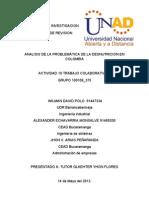 Articulo de Revision La Problematica de La Desnutricion en Colombia
