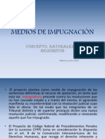 MEDIOS DE IMPUGNACIÓN