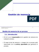Gest i on de Memoria 2010