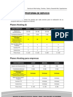 PROFORMA 2013 - Hosting Empresas