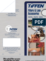 Tiffen camera filters brochure