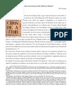 La Autoscopia Del Nombre. El Archivo Documental en Lihn, Dittborn y Martinez (1)