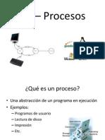 SO - Procesos