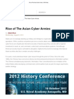Rise of the Asian Cyber Armies _ USNI News