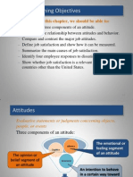 Organizational Behaviour (Attitudes and Job Satisfaction)