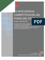 La Inteligencia Competitiva en Las Pymes Del Peru