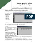Cara Membuat Web Dengan Microsoft FrontPage...