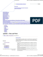 Time and Work Data Sufficiency 1