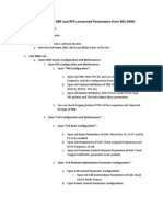 M2000 - Procedure for Checking DBF and RFP Concerned Parameters From BSC 6900