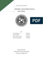Gender, Feminism, and International Relations