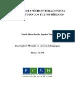 TANTO, Camile (Uma proposta sócio-interacionista para o estudo dos textos bíblicos)