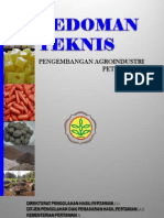 5.3 Pedoman Teknis Pengembangan Agroindustri Peternakan