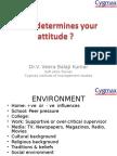 what determines your attitude