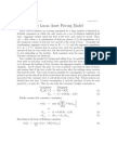 Lucas Asset Pricing Model