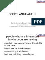 body language iii