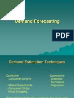 Demand Estimation & Forecasting