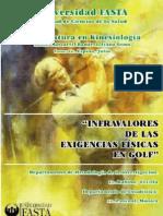 Infravalores De Las Exigencias Físicas En Golf.Ivana Mascarell