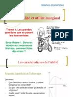 TD 1 Utilite Et Utilite Marginale