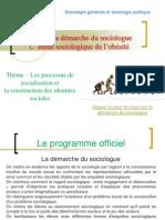 TD 1 La Demarche Du Sociologue