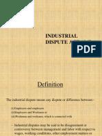 Industrial Dispute -