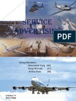 Service advertising