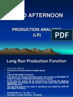 Production Analysis (Lr)