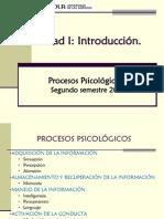 Unidad I Procesos Psicologicos Basicos