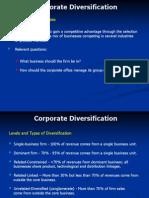 Corporate Diversification503