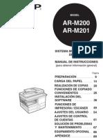 manual español AR-M200_201