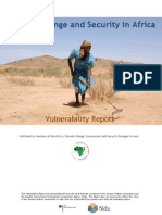 Climate Change and Security in Africa