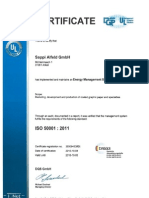 ISO 50001 Alfeld Valid Until 2015-10-03 - English