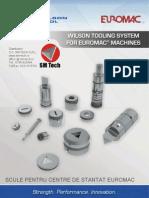EUROMAC - Catalog scule Wilson Tool pentru masini de stantat Euromac