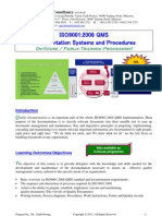 6.Documentation Systems ISO9001-2008 QMS Outline