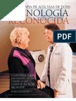 Braquiterapia de Alta Tasa de Dosis Tratamiento en Pacientes Con Cancer de Mama