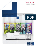 Midshire Business Systems - Ricoh ProC5100 / ProC5110 - SRA3 Print Production Colour Brochure