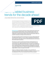McKinsey IT enabled  Business Trends - Ten IT-Enabled Business Trends for the Decade Ahead