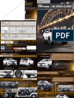Updated Toyota Fortuner Brochure