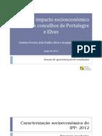 Estudo Impacto Socioeconomico IPP_concelhos Elvas e Portalegre
