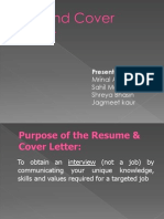 Presentation on Cv and Cover Letter(1)
