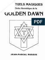 J.-pascal Ruggiu - Rituels Magiques Golden Dawn, Tome 1