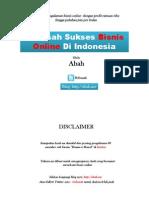 69 Kisah Sukses Bisnis Online Di Indonesia