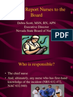 When to Report Nurses to the Board