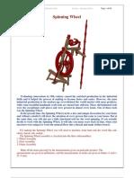 Spinning Wheel - Free woodworking plan