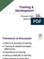 Training %26 Development