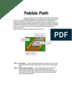 Lay a Pebble Path