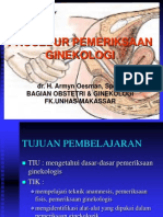 51. Prosedur Pemeriksaan Ginekologi