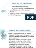 Theory of Metal Machining