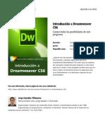 Introduccion a Dreamweaver Cs6