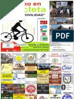 2013-08-16 Cartel Patrocinadores IV Paseo en Bicicleta Por Lora