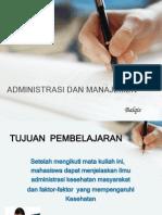 Administrasi Dan Manajemen
